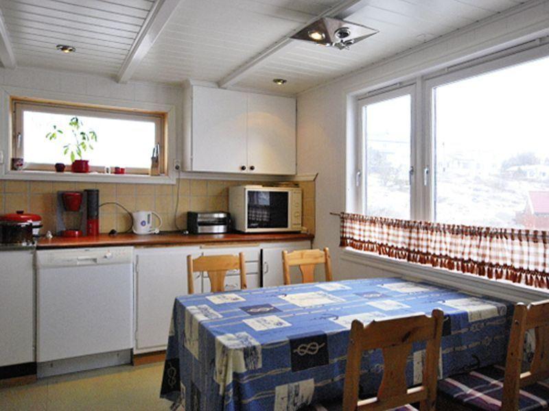 Angelreisen Norwegen 42162 Måsøval Küche