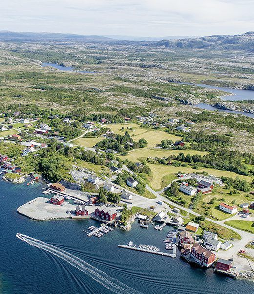 Angelreisen Norwegen 42181-195 Steinsjø Kvenvær Luftbild