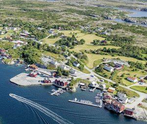 Steinsjø Kvenvær Luftbild