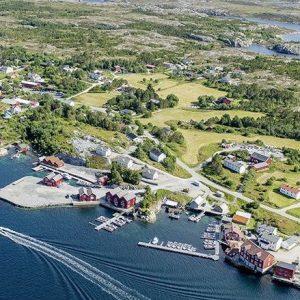 Angelreisen Norwegen 42181-42195 Steinsjø Kvenvær Luftbild