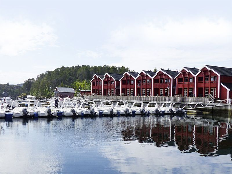 Angelreisen Norwegen 42201-42227 Angelamfi Panorama+Hafen