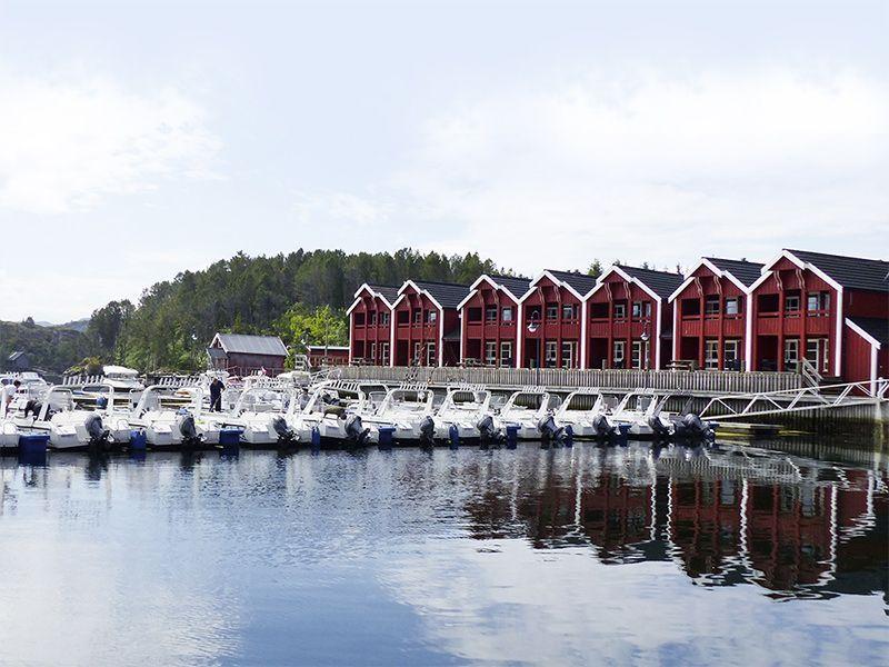 Angelreisen Norwegen 42201-227 Angelamfi Panorama+Hafen