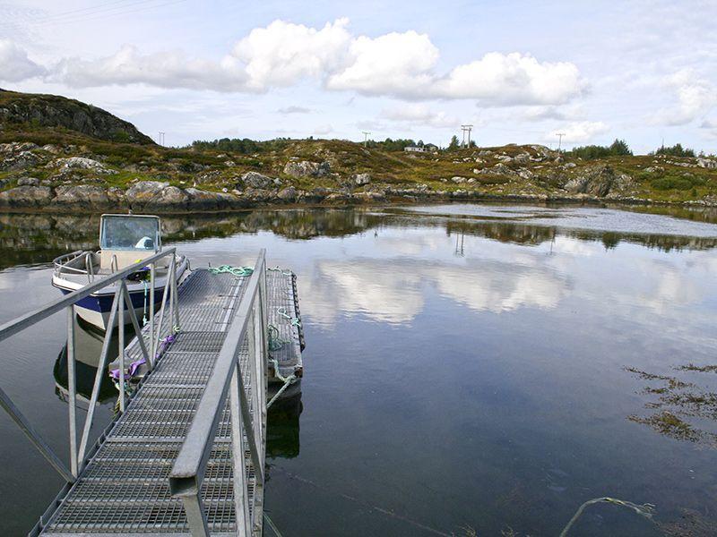Angelreisen Norwegen 42241 Dolmøy Hafen