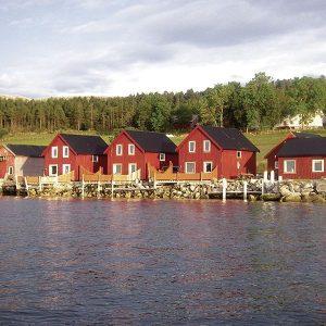 Angelreisen Norwegen 42301-42305 Refsnes Ansicht vom Wasser