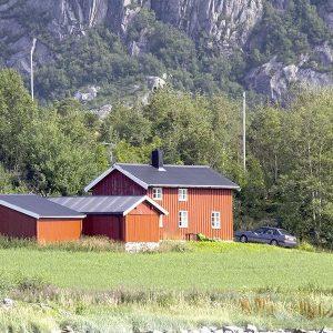 Angelreisen Norwegen 42306 Gangstøstranda Hausansicht