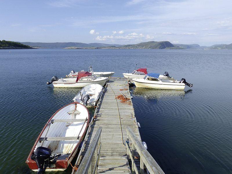 Angelreisen Norwegen 42308-42310 Gangstøstranda Hafen