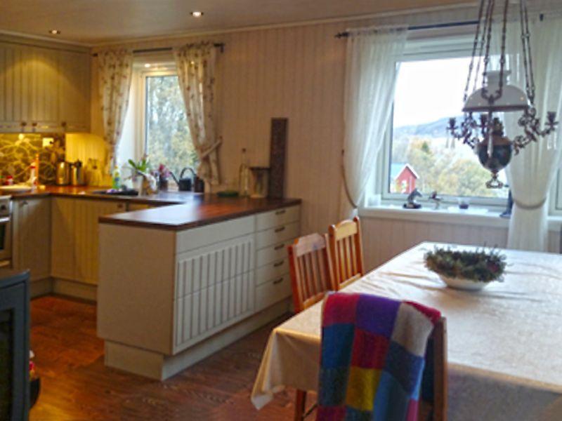 Angelreisen Norwegen 42308 Gangstøstranda Küche + essen