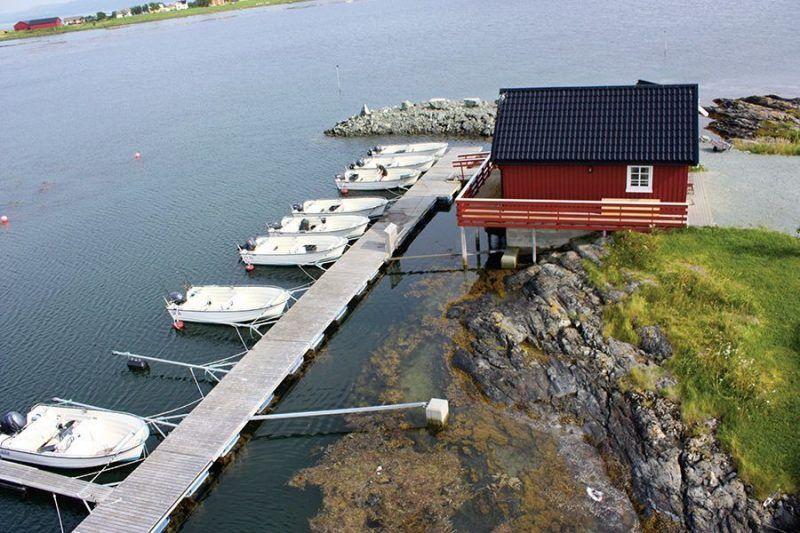 Angelreisen Norwegen 42321-42327 Rønsholmen Brygger Hafen