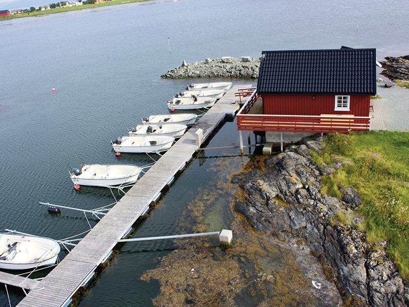 Angelreisen Norwegen 42321-327 Rønsholmen Brygger Hafen