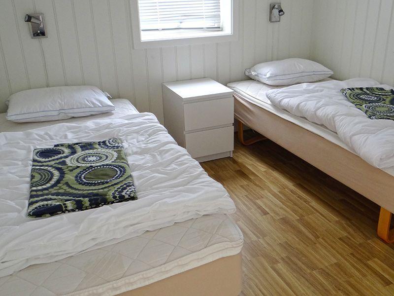 Angelreisen Norwegen 42343 Hindrum Fjordsenter schlafen