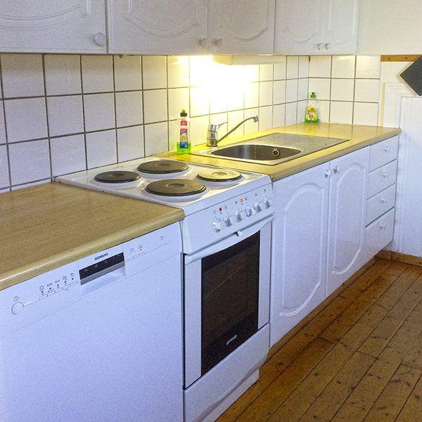 Angelreisen Norwegen 42351-354 Nesvalen Rorbuer Küche