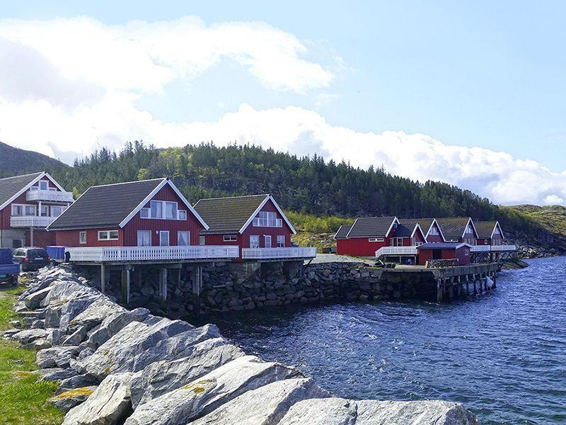 Angelreisen Norwegen 42351-370 Nesvalen Rorbuer Ansicht