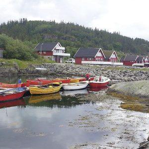 Angelreisen Norwegen 42351-370 Nesvalen Rorbuer Hafen