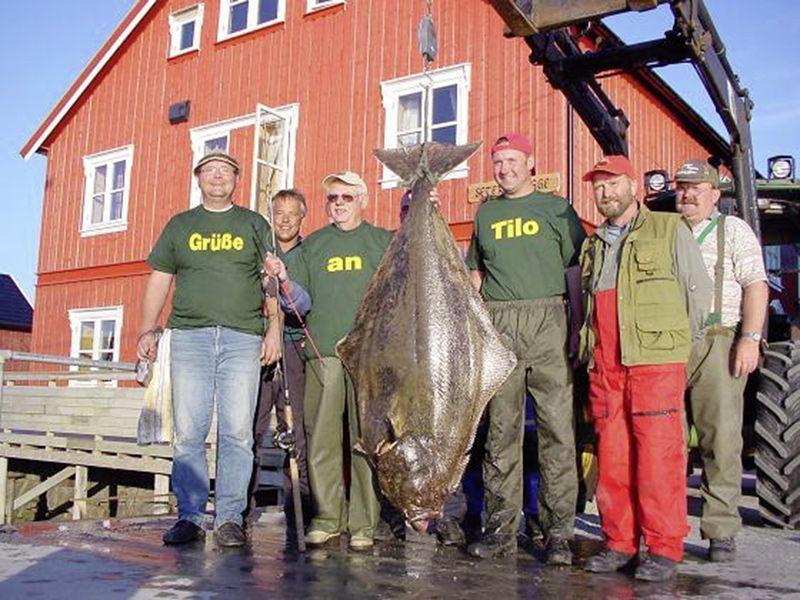 Angelreisen Norwegen 42381-396 Seter Brygge Heilbutt
