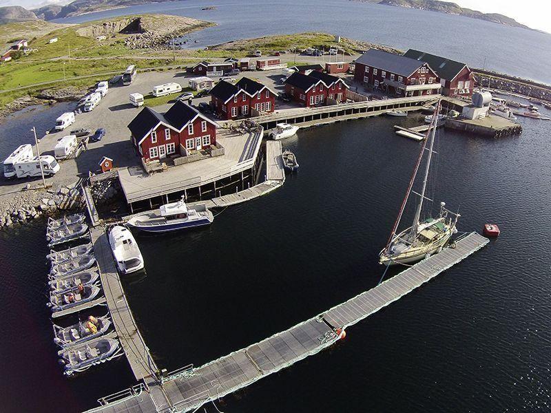 Angelreisen Norwegen 42381-42396 Seter Brygge Panorama