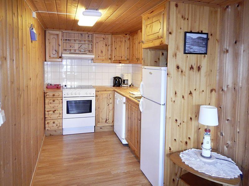 Angelreisen Norwegen 42391-42396 Seter Brygge Küche