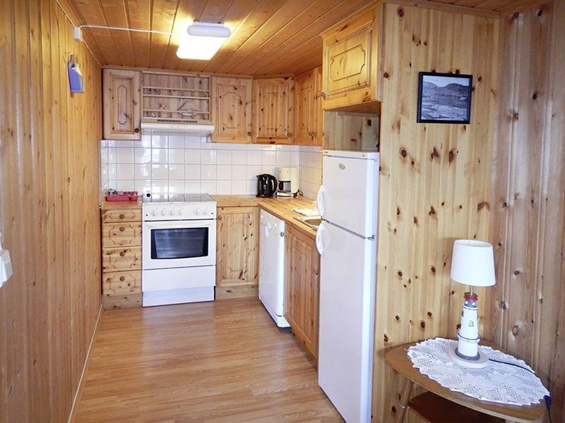 Angelreisen Norwegen 42391-396 Seter Brygge Küche