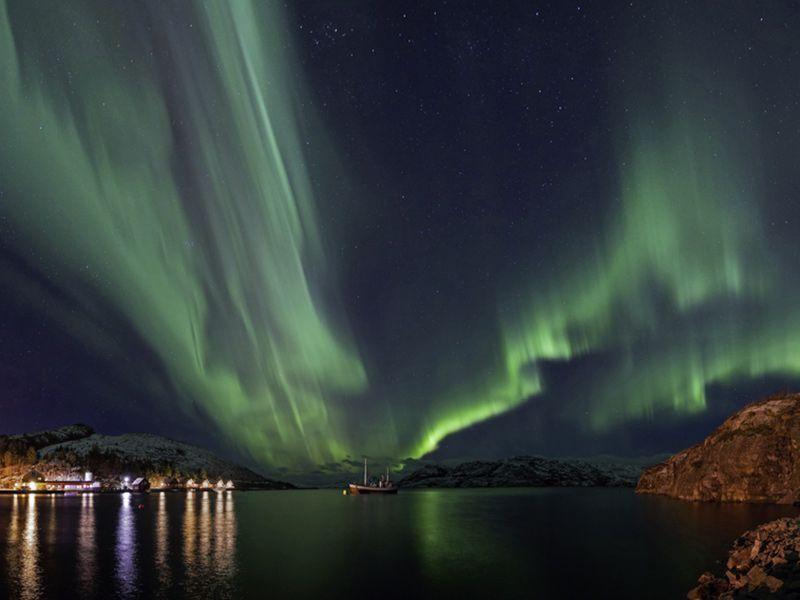 Angelreisen Norwegen 42401-420 Bessaker Nordlicht