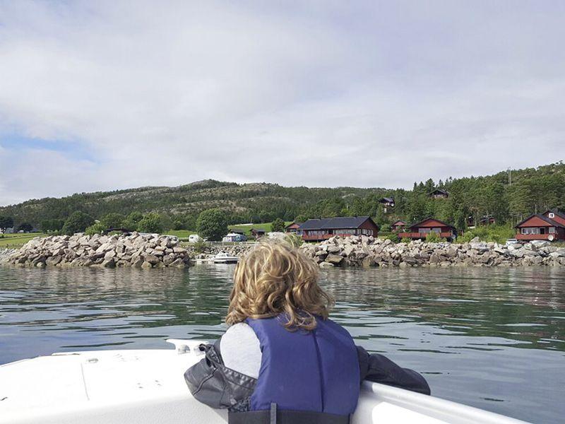 Angelreisen Norwegen 42471-4285 Kvisterø Ansicht vom Wasser
