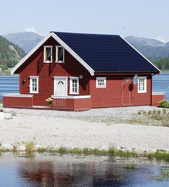 Angelreisen Norwegen 42805 Bogen Feriehus Ansicht