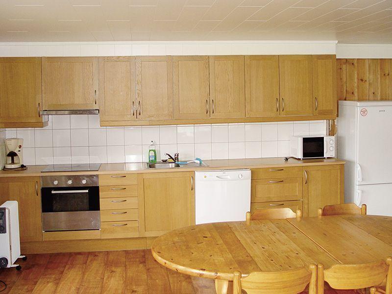 Angelreisen Norwegen 42895 Vennesund Brygge Küche
