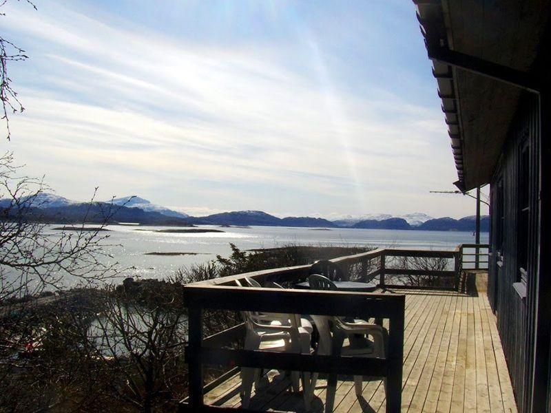 Angelreisen Norwegen 42960 Bjørnvika Natursenter Terrasse