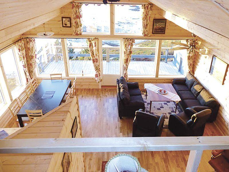 Angelreisen Norwegen 42980 Bjørnvika Natursenter Wohnen