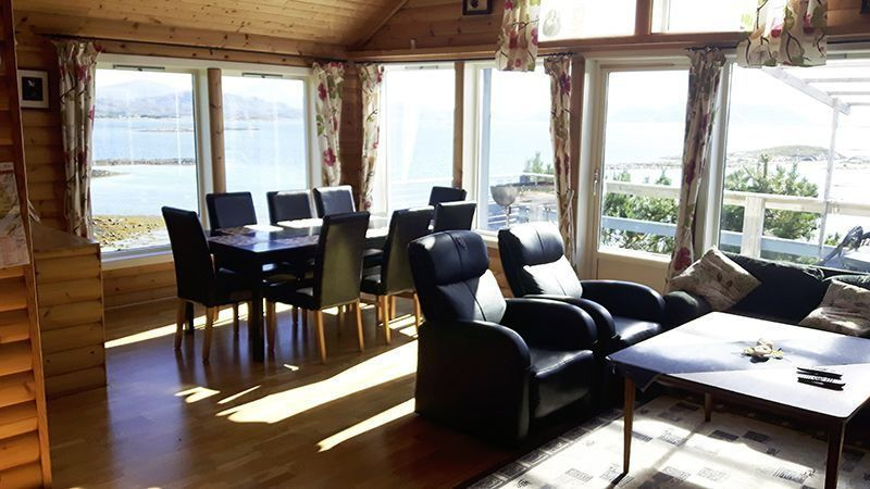 Angelreisen Norwegen 42980 Bjørnvika Natursenter Wohnen + Essen