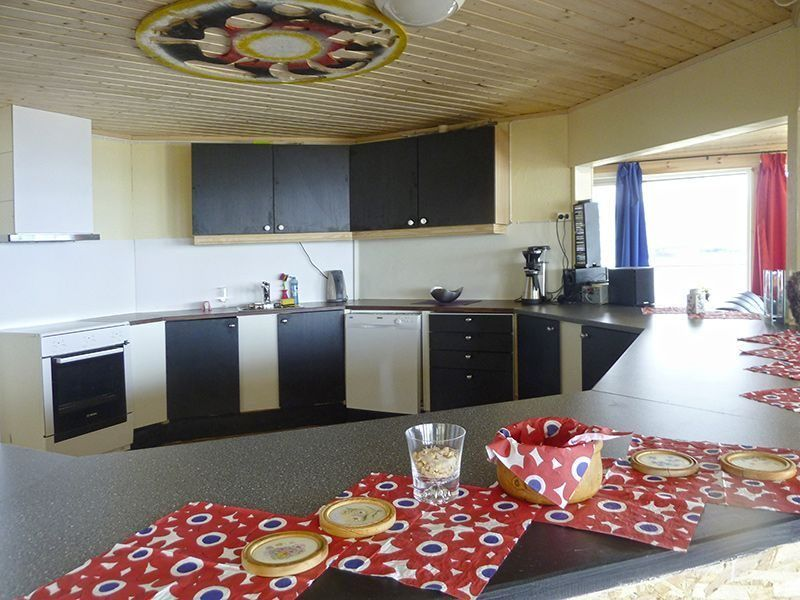 Angelreisen Norwegen 42990 Bjørnvika Natursenter Küche
