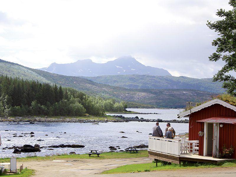 Angelreisen Norwegen 43200-250 Hamarøy Fiskecamp Straumen