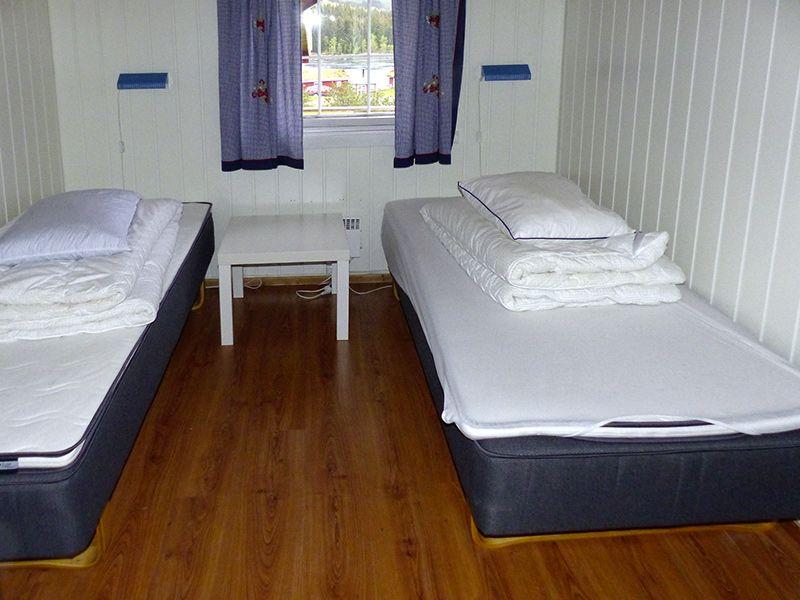 Angelreisen Norwegen 43250 Hamarøy Fiskecamp schlafen1