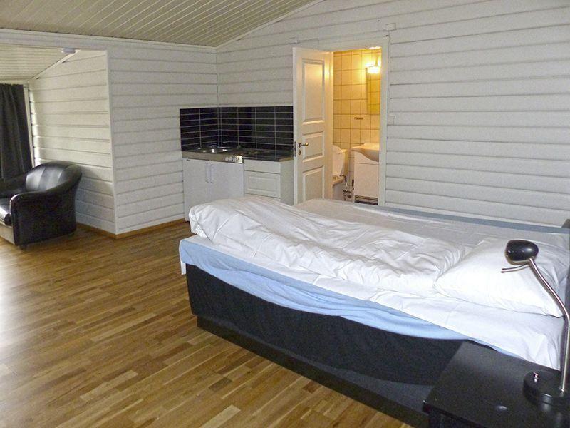 Angelreisen Norwegen 43250 Hamarøy Fiskecamp Schlafen