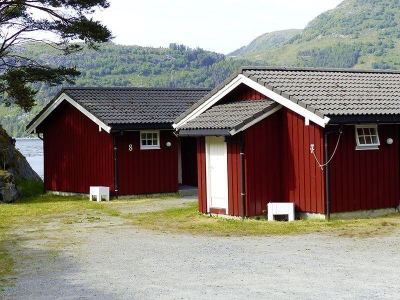 Angelreisen Norwegen 41491-493 Skottneset Feriesenter Ansicht hinten