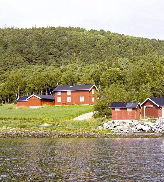 Angelreisen Norwegen 42306-307 Gangstøstranda Hafen