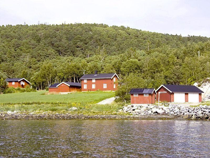 Angelreisen Norwegen 42306-42307 Gangstøstranda Hafen