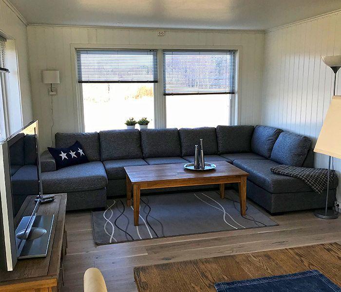 Angelreisen Norwegen 41776 Ferienhäuser Nerås wohnen, Sofa