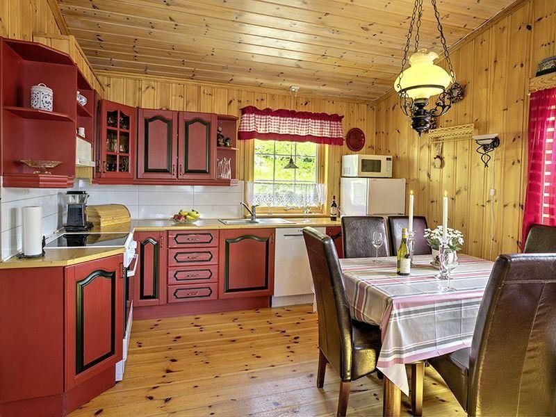 Angelreisen Norwegen 41526 Grendabu Küche