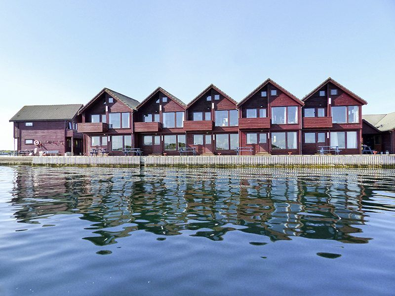 Angelreisen Norwegen 40301-316 Kvitsøy Maritime Senter Ansicht vom Wasser