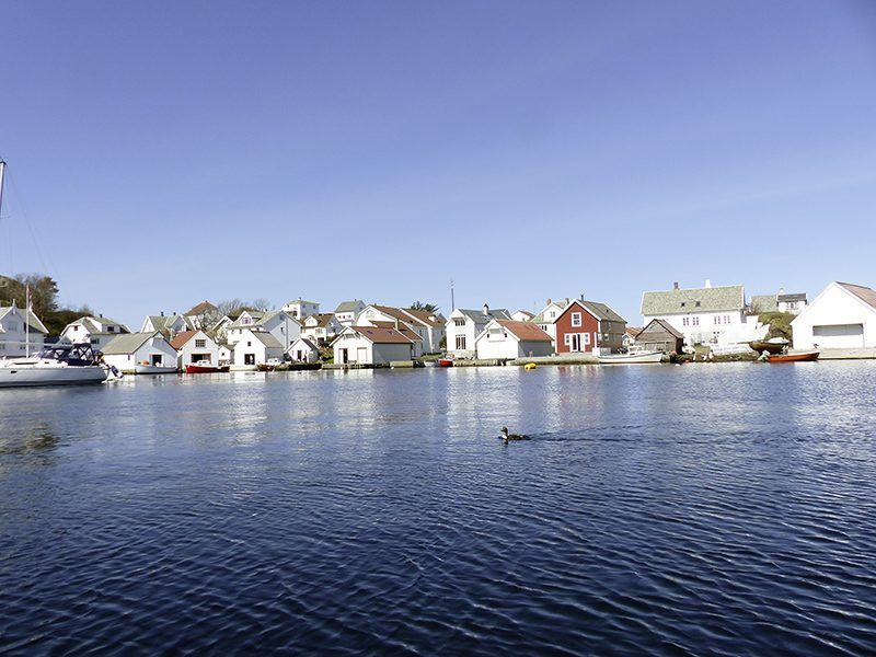 Angelreisen Norwegen 40322 Kvitsøy Seehaus Mirjam Überblick