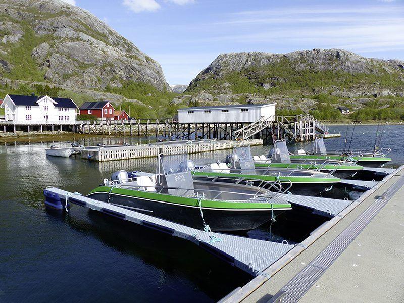 Angelreisen Norwegen 43011-017 Visthus Rorbuer Überblick