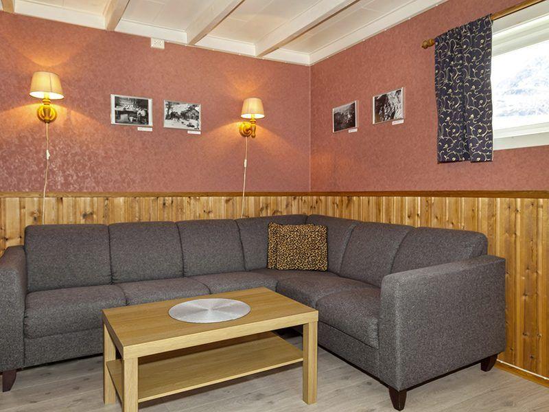 Angelreisen Norwegen 43011 Visthus Rorbuer Wohnbereich