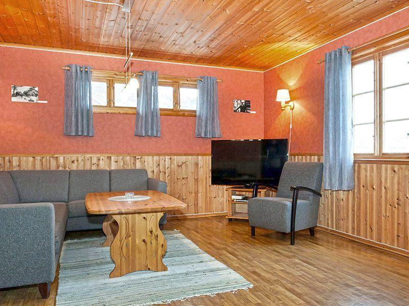 Angelreisen Norwegen 43012 Visthus Rorbuer Wohnbereich