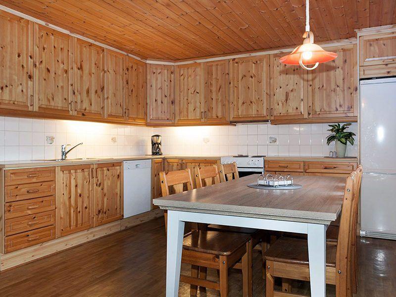 Angelreisen Norwegen 43013 Visthus Rorbuer Küche + Essen
