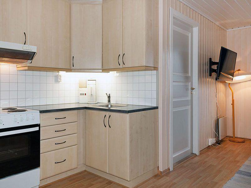 Angelreisen Norwegen 43014 Visthus Rorbuer Küche