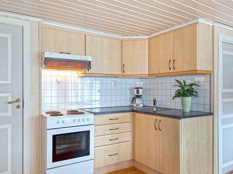 Angelreisen Norwegen 43017 Visthus Rorbuer großes Apartment Küche