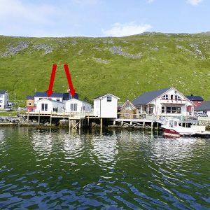 Angelreisen Norwegen 45001-45002 Skarsvåg Nordkapp Ansicht