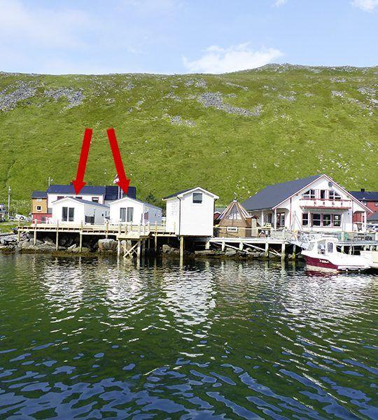 Angelreisen Norwegen 45001-002 Skarsvåg Nordkapp Ansicht