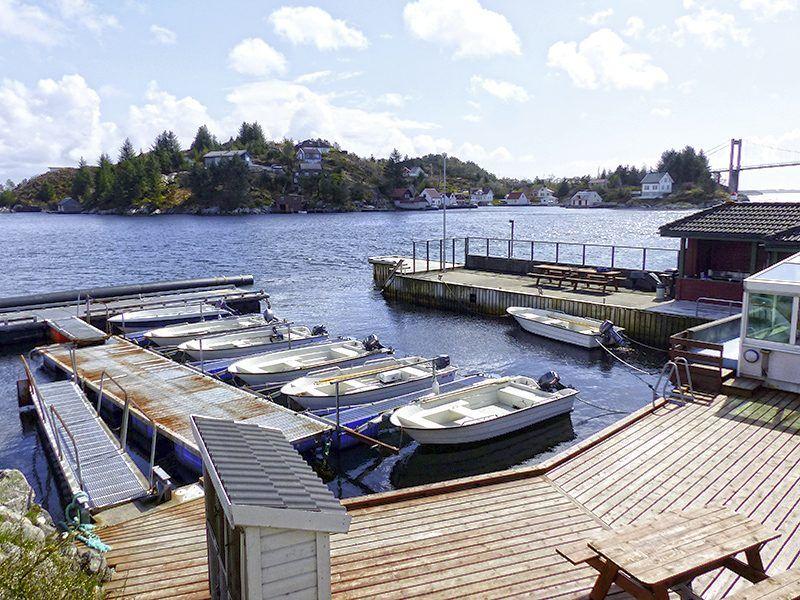Angelreisen Norwegen 41291-41297 Herdla Hafen