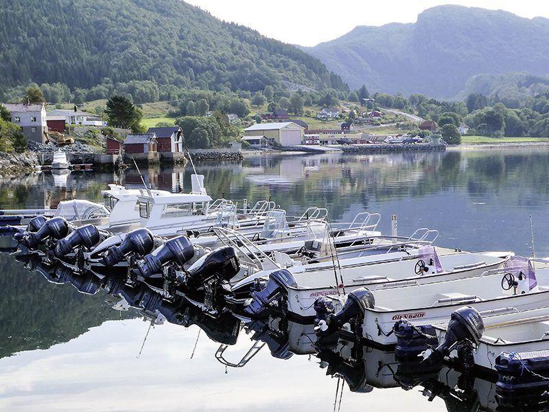 Angelreisen Norwegen 41411-41415 Fjordkick Sørbøvåg Hafen