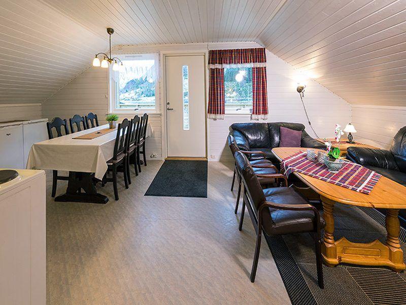 Angelreisen Norwegen 41494 Skottneset Feriesenter Wohnen + Essen